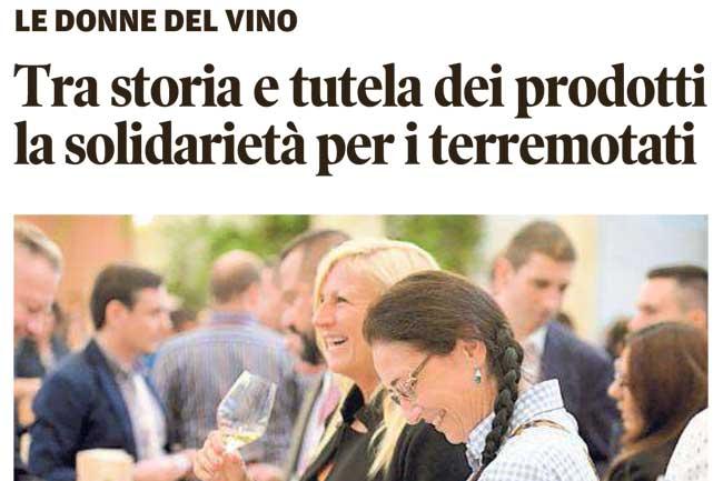 Rassegna Stampa > Aperitivo Con Le Donne Del Vino Trentino-AA